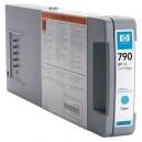 HP 790 1000-ml Cyan Ink Cartridge (CB272A)
