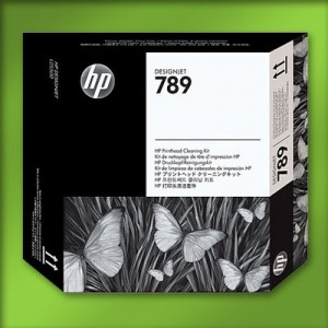 Genuine HP 789 Designjet Printhead Cleaning Kit - 2850
